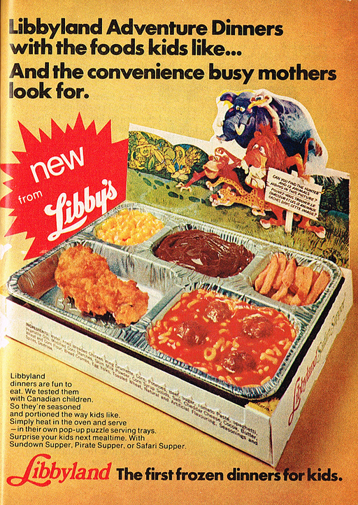 Quick Ads For Beauty Product Blusher Oneminutebriefs: These 8 Vintage Frozen TV Dinners Look Strange And
