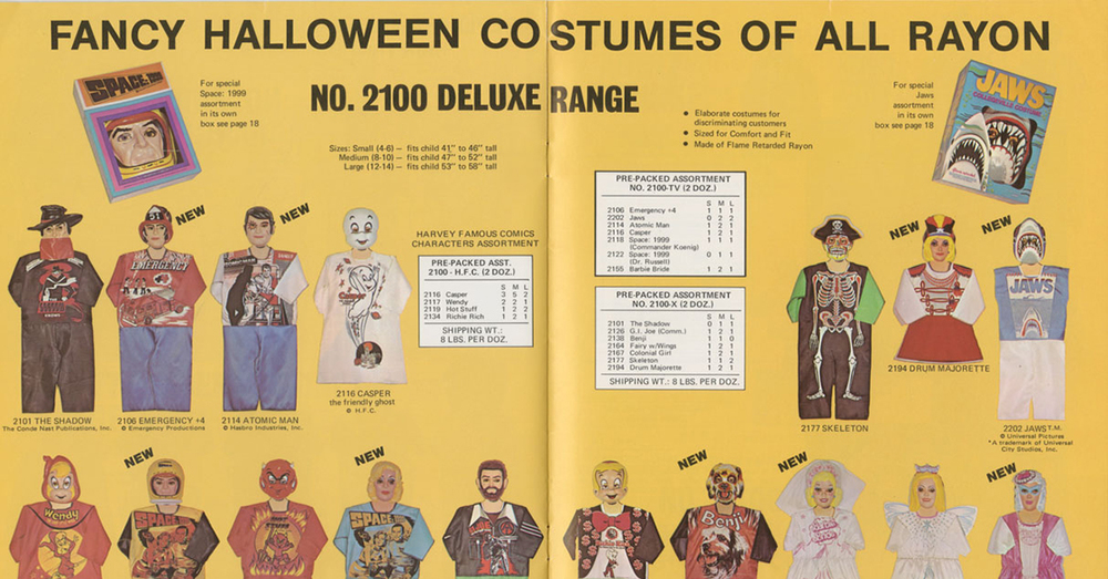 20 strange cheap halloween costumes from the 1960s and 1970s - Space Ghost Halloween Costume