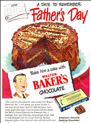 9 Vintage Baker S Chocolate Ads That Will Have You Craving