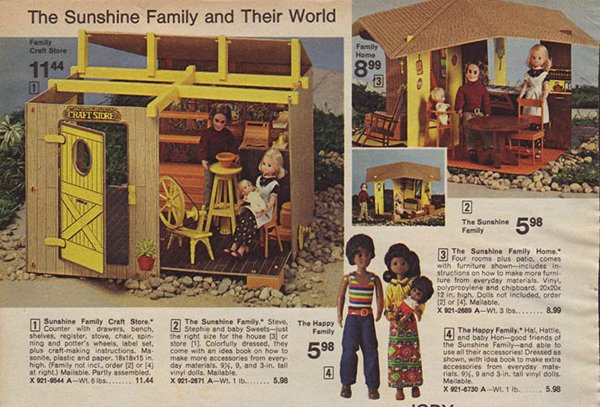 Toys That Were Made In The 1970 : The sunshine family were most s toys of