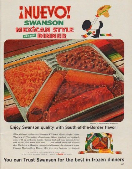 Swanson Mexican Style Frozen Dinner