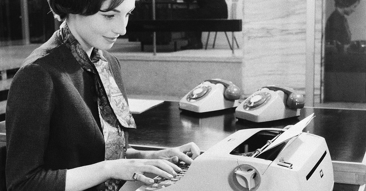 12 vintage office supplies that will take you back to work in the 1960s