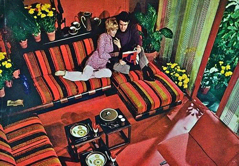these zany interior design pictures prove that no decade was more colorful than the 1970s - Better Homes And Gardens Interior Designer