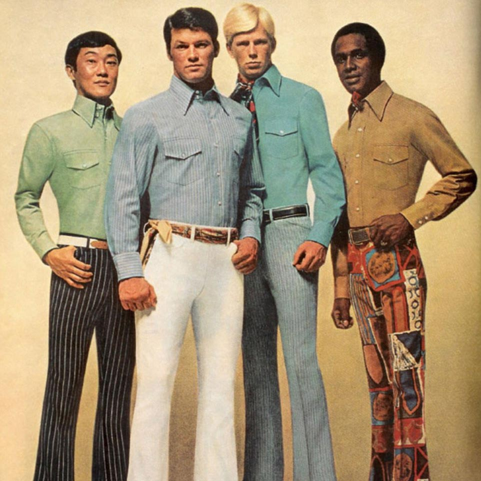 Pleasing 9 Groovy Fashion Trends From The 1970S Hairstyles For Men Maxibearus