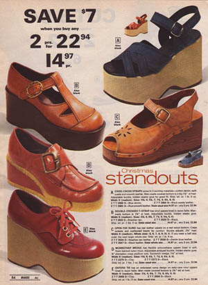 8 Shoes You Forgot You Owned In The 1970s