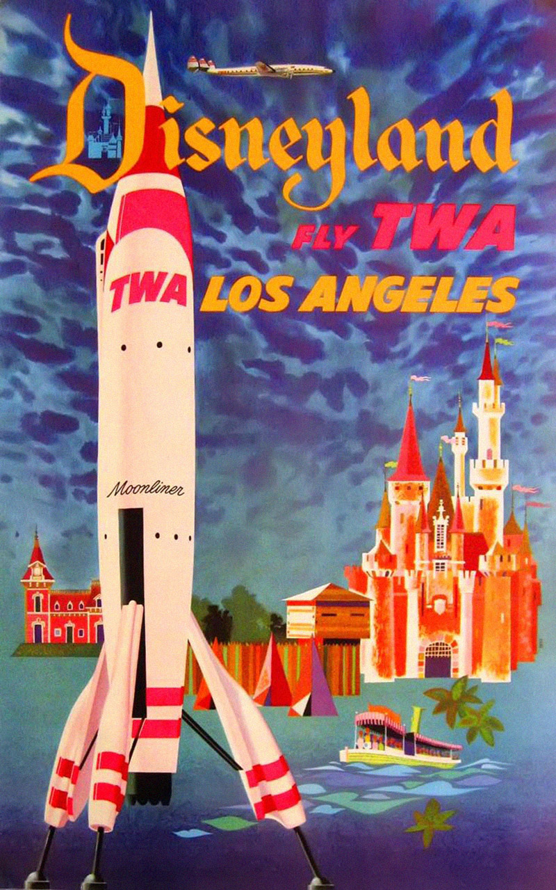 Vintage Travel Posters That Show Americas Awesome Beauty - Los angeles posters vintage