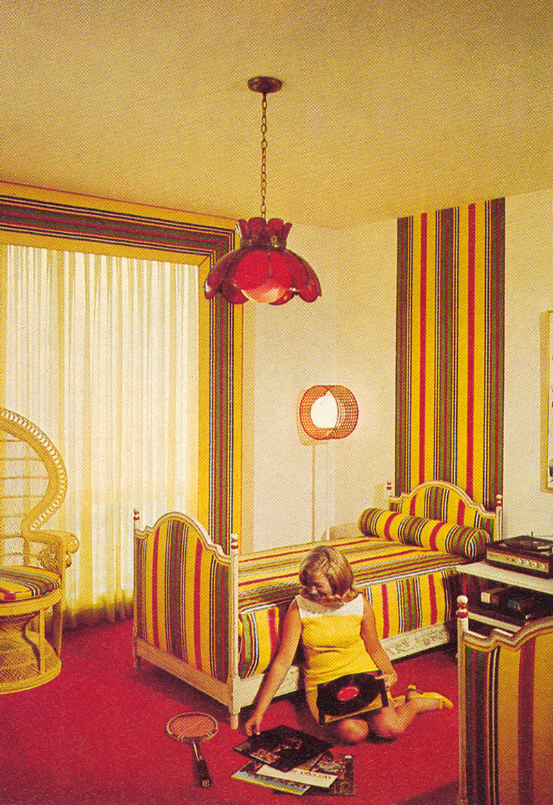 these zany interior design pictures prove that no decade was more