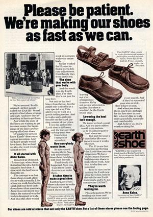 Shoe Brand Called Earth