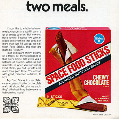 astronaut snacks from the 70s - photo #11
