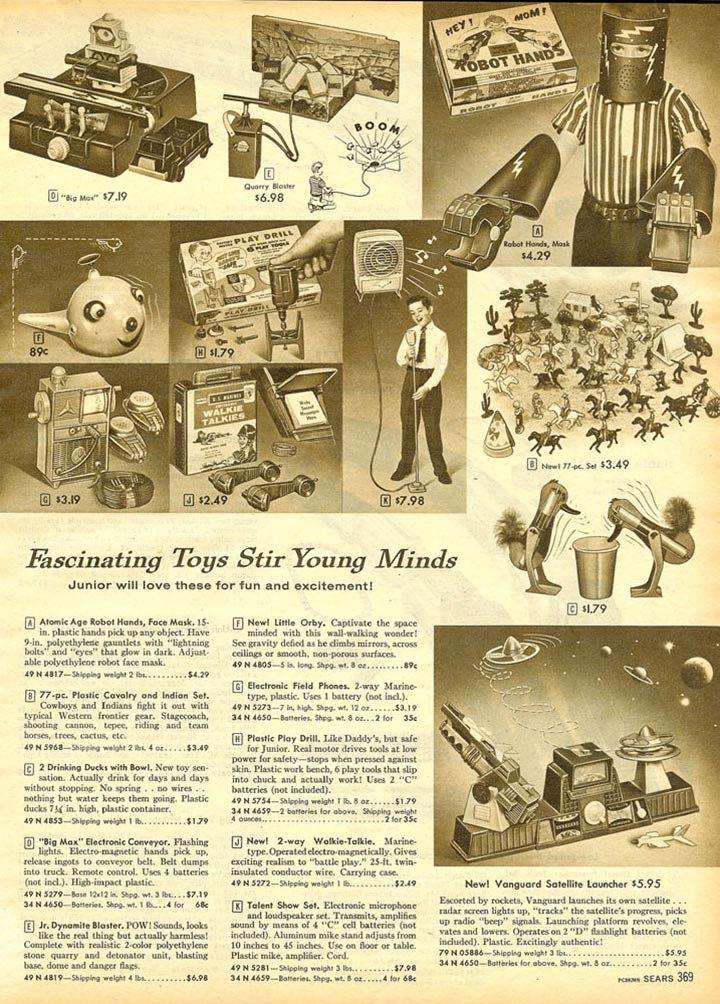 Old Fashioned Items Catalogs