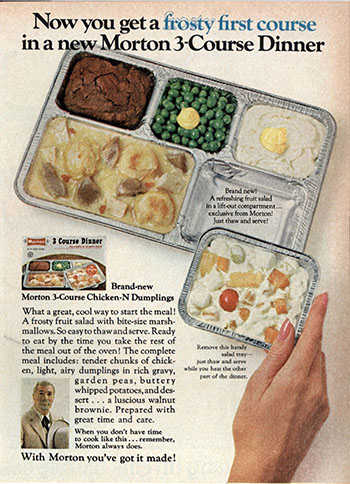 These 8 Vintage Frozen Tv Dinners Look Strange And